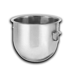 Hobart comatible and adjustible bowls from 10 quarts to 140 quarts. Stainless steel and plastic bowls. Buy Online or Call 215-333-1300
