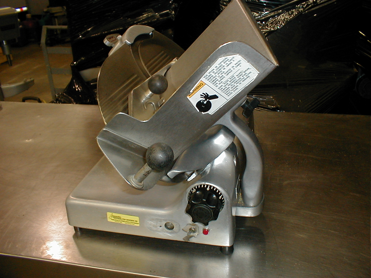 Used Berkel slicer model 807 12 inch blade. Freight charge