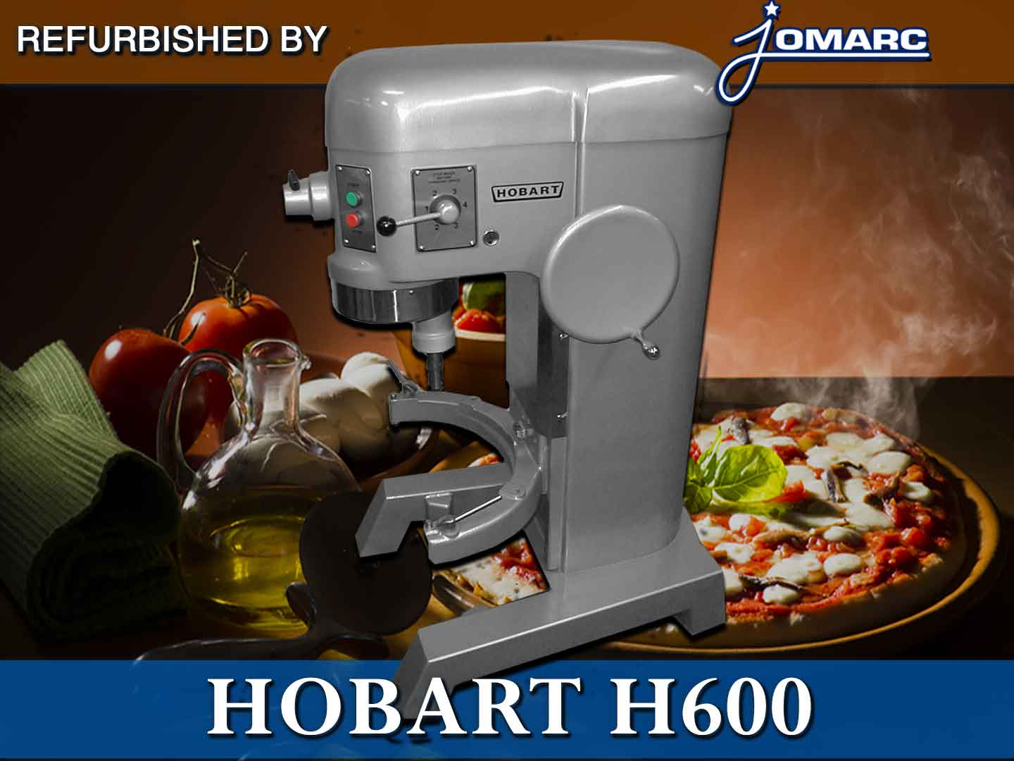 OUTSIDE OUR SERVICE AREA?    No problem! Ship your Hobart mixer to Jomarc for repair Click here for more details