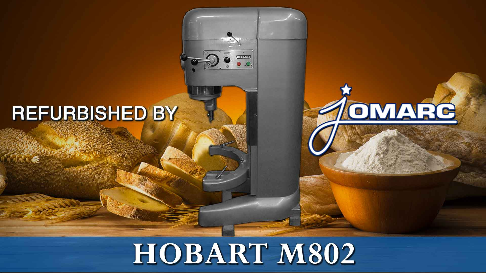 REFURBISHED HOBART MIXER m-802 BY JOMARC