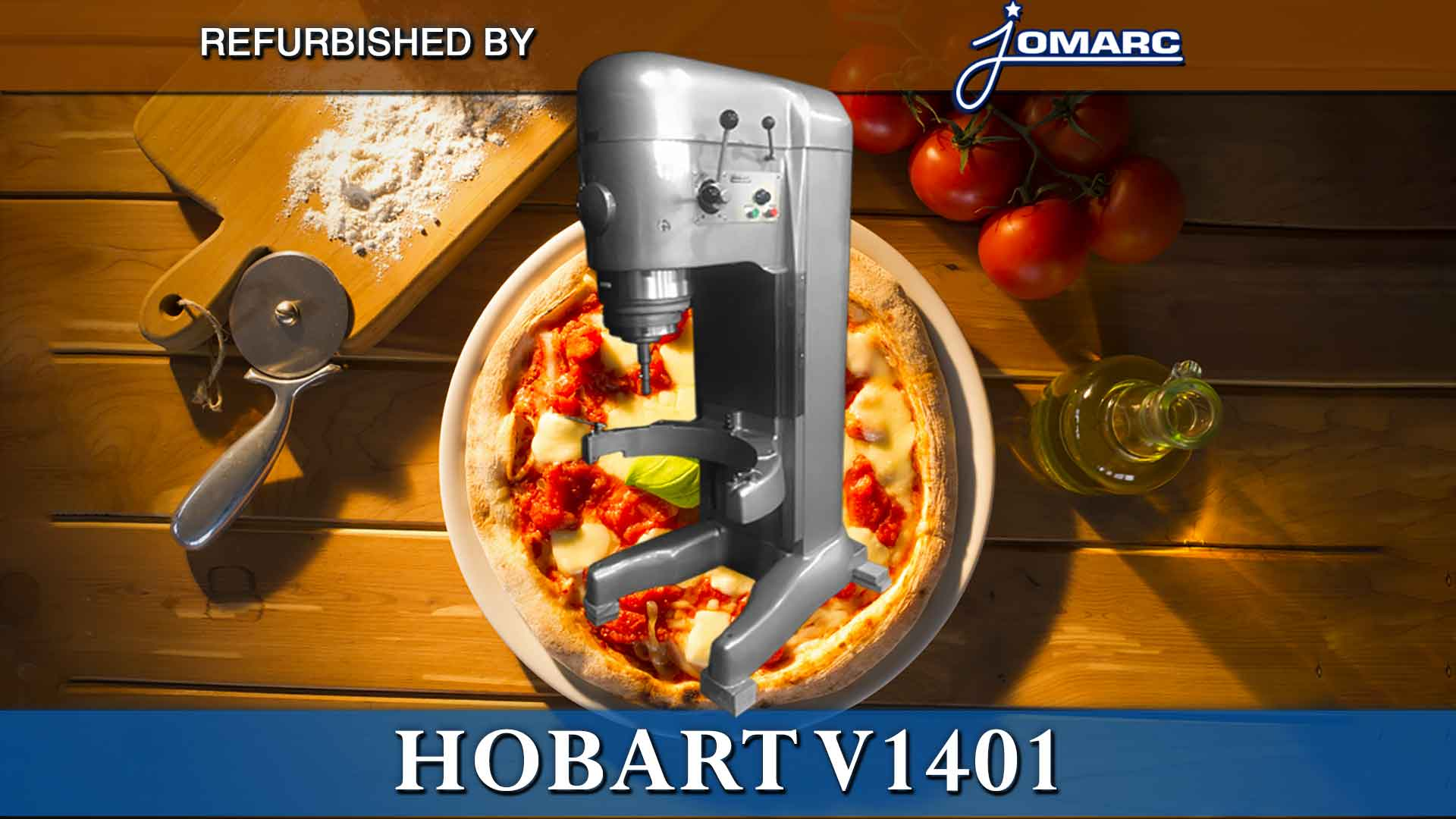REFURBISHED HOBART MIXER v-1401 BY JOMARC